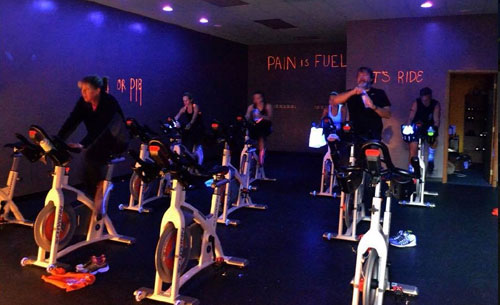 Our Gorilla Cycle is a sweat-drenched indoor cycling class on a Schwinn magnet-resistance spin bikes, with monitor! Call 814-944-9412
